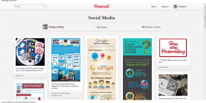 Philippa's Social Media Pinterest board